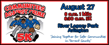 27th Annual Communitites Against Crime 5K