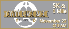 21st Annual Coyote Chase Race