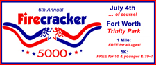 6th Annual FIRECRACKER 5000