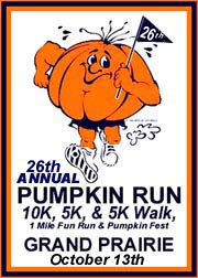 26th Annual Pumpkin Run