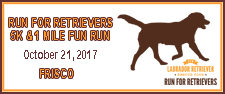 Run for Retrievers 5K & 1 Mile Fun Run