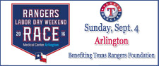 5th Annual Texas Rangers Labor Day Run