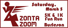 2nd Annual Zonta Zoom 5K